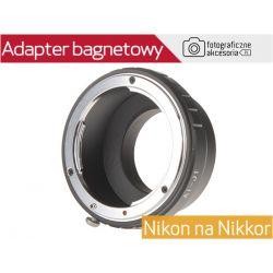 Adapter bagnetowy z Nikon 1 V2 J2 Nikon AF Ai AiS