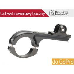 Uchwyt ROWEROWY boczny - aluminiowy, do GoPro GP62