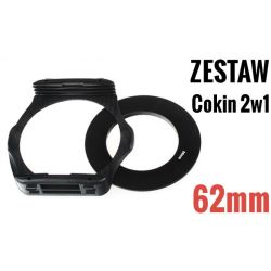 Zestaw COKIN P 2w1 holder adapter 62mm W-wa