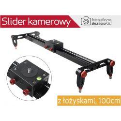 Slider kamerowy VIDEO light 100cm (z łożyskami)