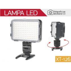 LAMPA diodowa LED do kamer i aparatów,model XT-126
