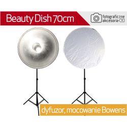 Beauty dish SŁONECZKO BOWENS czasza średnica 70cm