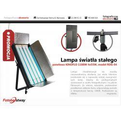 KINOFLO Panelowa lampa światła stałego 1100W RDG04