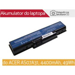 Bateria do laptopa ACER AS07A31 4400mAh 49Wh Wwa
