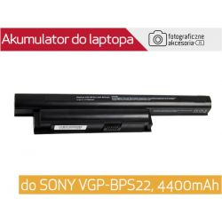 Bateria do laptopa SONY VGP-BPS22 4400mAh 48Wh Wwa