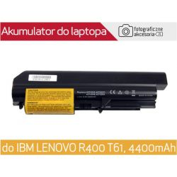 Bateria do laptopa IBM LENOVO R400 T61 4400mAh48Wh