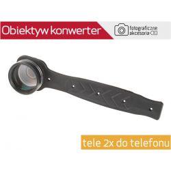 Obiektyw KONWERTER tele 2x do telefonu