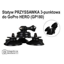 Statyw PRZYSSAWKA 3-punktowa do GoPro HERO (GP180)