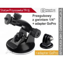 """PRZYSSAWKA DO KAMERY I APARATU 1/4"""" +adapter"""