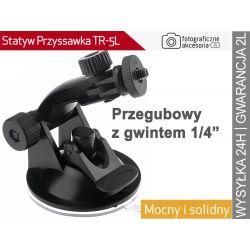 """PRZYSSAWKA DO SZYBY 1/4"""" do Sony Action CAM"""