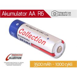 Akumulator AA (R6) 3500 mAh NiMH COLLECTION W-wa