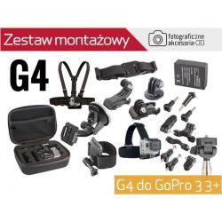 ZESTAW MONTAŻOWY G4 do GoPro 4, 4 Silver Edition
