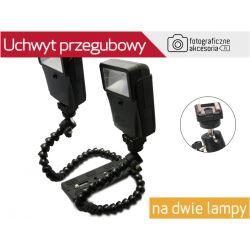 Uchwyt przegubowy na dwie lampy DMM-901 Wwa