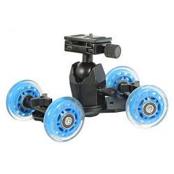 Wózek kamerowy WROTKA dolly + GŁOWICA WT-6692AH