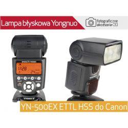 Lampa błyskowa Yongnuo YN-500 EX ETTL HSS do Canon