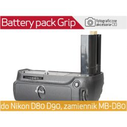 Battery pack GRIP MB-D80 do NIKON D80 D90 W-wa