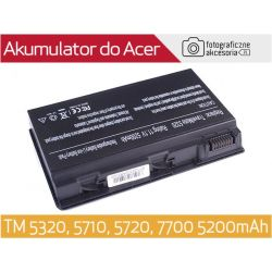 BATERIA DO ACER TM 5320, 5710, 5720, 7720 5200mAh