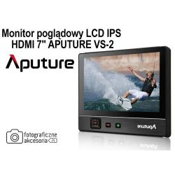 "MONITOR POGLĄDOWY LCD HDMI 7"" APUTURE VS-2"