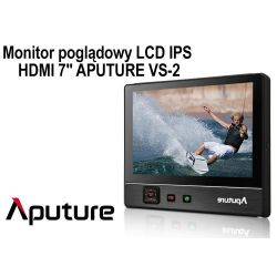 "MONITOR APUTURE LCD HDMI 7"" model VS-2"