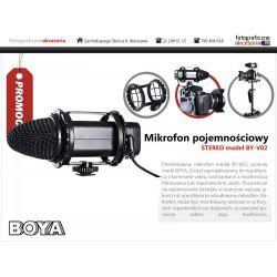Mikrofon pojemnościowy STEREO model BY-V02