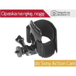 Opaska na RĘKĘ/NOGĘ +ADAPTER 1/4'' SONY ACTION CAM