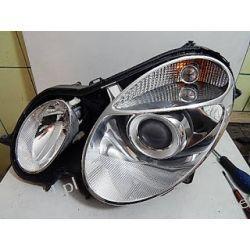 Mercedes E-klasa W211 regeneracja lamp