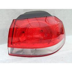 VW GOLF 6 PRAWA LAMPA KOMPLETNA TYŁ Lampy przednie