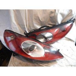 PEUGEOT 407 SPORT KOMPLET LAMP PRZÓD Lampy przednie