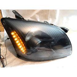TOYOTA AVENSIS T25 KOMPLET LAMP CZARNE PO REGENERA Lampy tylne