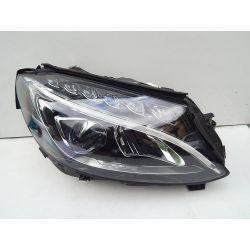 MERCEDES C-KLASA W205 PRAWA LAMPA PRZÓD FULL LED