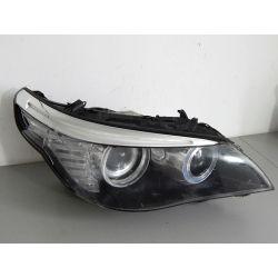 BMW V E60 LIFT PRAWA LAMPA BI-XENON PRZÓD Lampy przednie