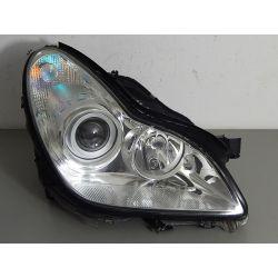 MERCEDES CLS W219 PRAWA BI-XENON SKRĘTNY Lampy przednie