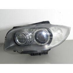 BMW 1 LIFT LEWA LAMPA BI-XENON SKRĘTNY PRZÓD Lampy przednie