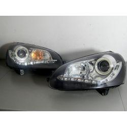 VW GOLF V LED KOMPLET LAMP Lampy przednie