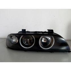 BMW E39 LIFT PRAWA LAMPA BI-XENON CZARNA Lampy przednie