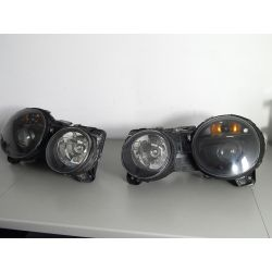 JAGUAR S-TYPE KOMPLET LAMP BI-XENON NIESKRĘTNE Lampy przednie