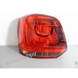 VW POLO 6R0 LEWA LAMPA TYŁ Lampy przednie