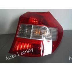 BMW 1 E87 PRAWA LAMPA TYŁ Lampy przednie