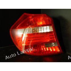 BMW 1 E87 LEWA LAMPA TYŁ KOMPLETNA Lampy przednie