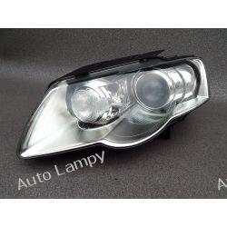 VW PASSAT B6 LEWA LAMPA BI-XENON PRZÓD LIFT Lampy przednie