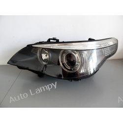 BMW E60 PRZED LIFTEM XENON LEWA LAMPA PRZÓD Lampy tylne