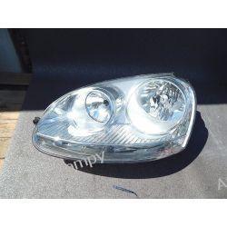 VW GOLF V LEWA LAMPA PRZÓD Lampy przednie