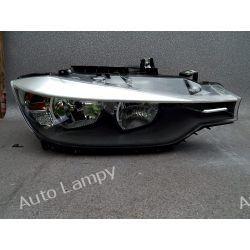 BMW 3 F30 PRAWA LAMPA PRZÓD ZKW Lampy przednie