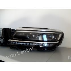 VW TIGUAN LEWA LAMPA FULL LED  Lampy przednie
