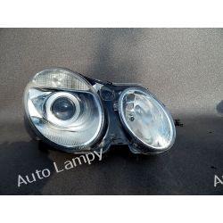 MERCEDES E-KLASA W211 BI-XENON NIESKRĘTNY PRAWA Lampy przednie