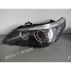 BMW E60 LEWA LAMPA BI-XENON SKRĘTNY DYNAMIC Lampy tylne