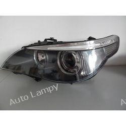 BMW E60 LEWA LAMPA BI-XENON SKRĘTNY DYNAMIC Lampy przednie