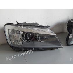 BMW X3 F25 2010-14 PRAWA  LAMPA BI-XENON  Lampy przednie