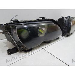 BMW X3 E46 KOMPLET LAMP SOCZEWKA Lampy przednie