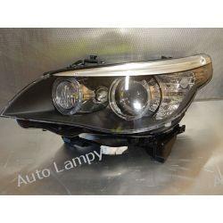 BMW E60 XENON DYNAMIC LEWA LAMPA PRZÓD Lampy tylne